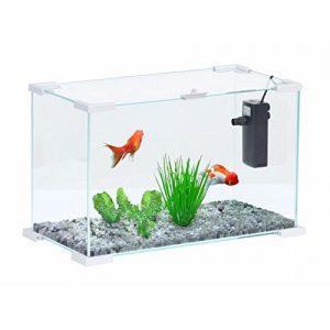 Aquarium combattant Zolux - Aqua Nanolife First 20 Blanc