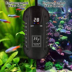 NICREW Mini Chauffage pour aquarium