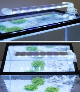 BPS® Lampe d'aquarium LED submersible